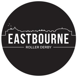 Eastbourne Roller Derby logo by That Beast Jen