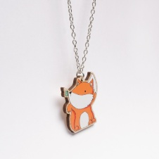 Fox Necklace - Available in the Shop