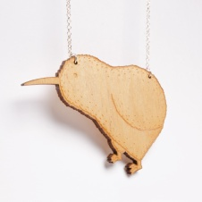 Kiwi Necklace - Available in the Shop