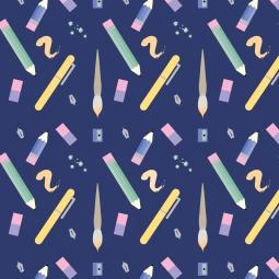 pens - pencil patter-01