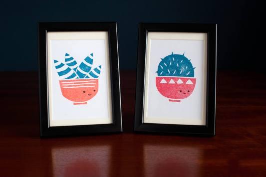 cactus-succulent-lino-print